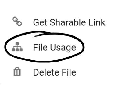 Music Gateway File Usage