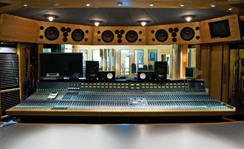 air recording studios in London, uk