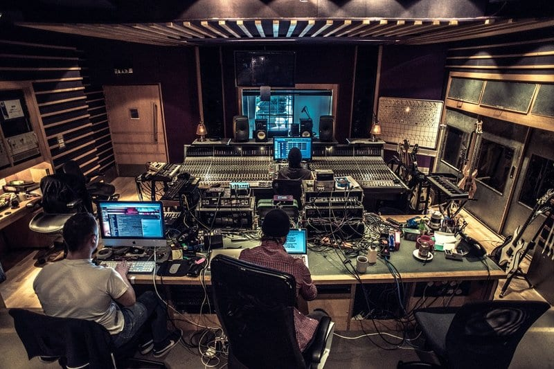 metropolis music recording studios in London, uk
