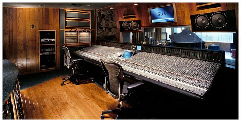 Best recording studios Platinum studios