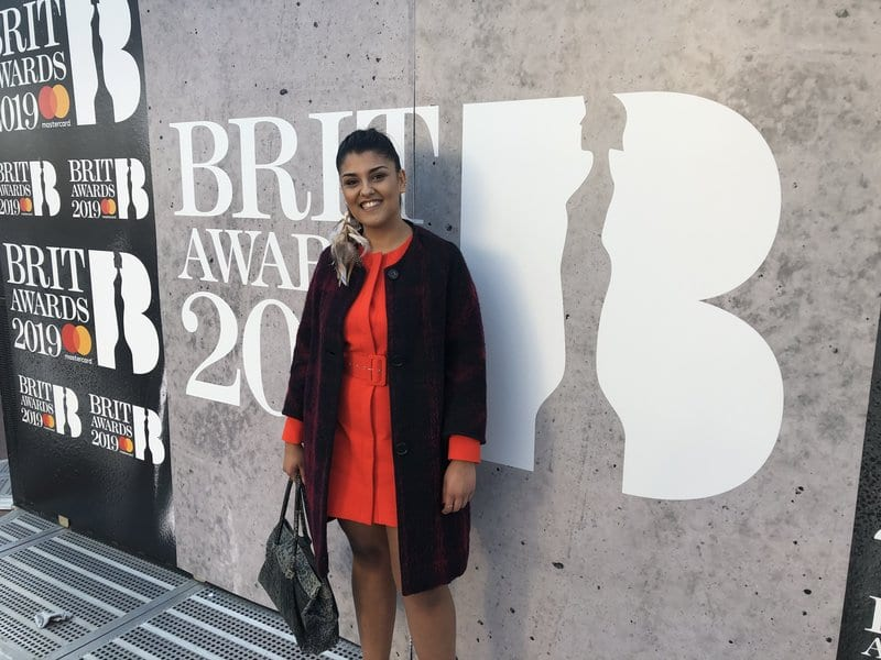 Music Gateway at the BRIT awards 2019 Roberta Marielle De Silva