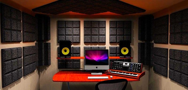 Acoustic Treatment Home Recording Studio