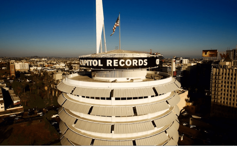 Capitol Records LA Sync Mission with Music Gateway