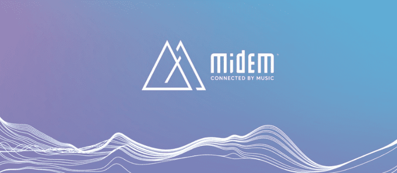 Midem 2019 Logo Connected by Music
