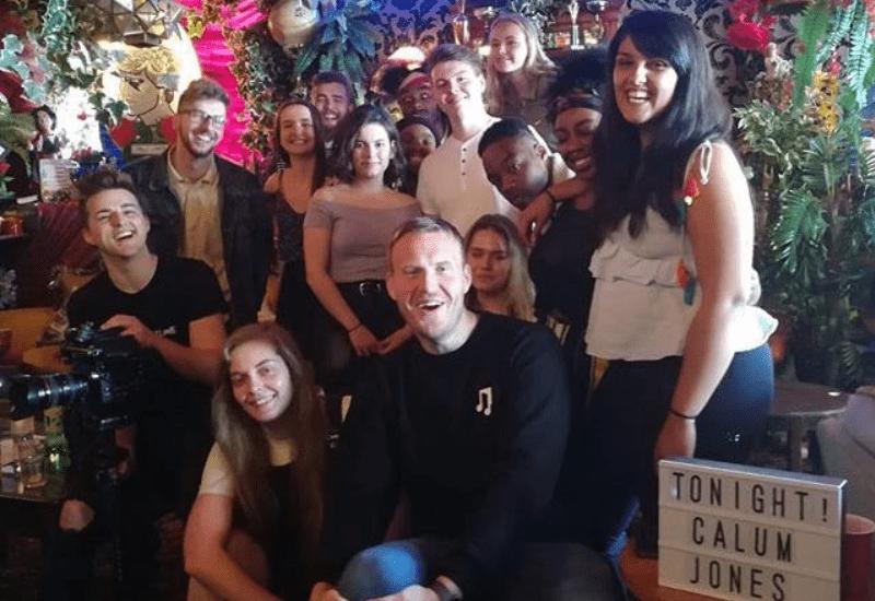Calum Jones 'Iona' Music Video Extras