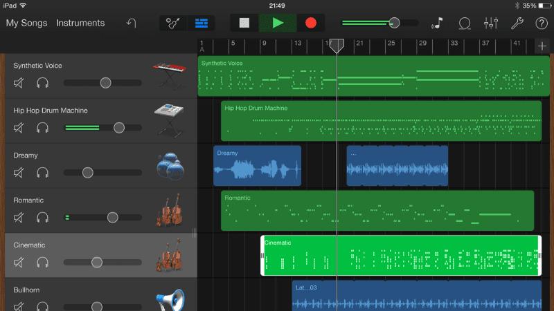 Garageband Free Music Apps