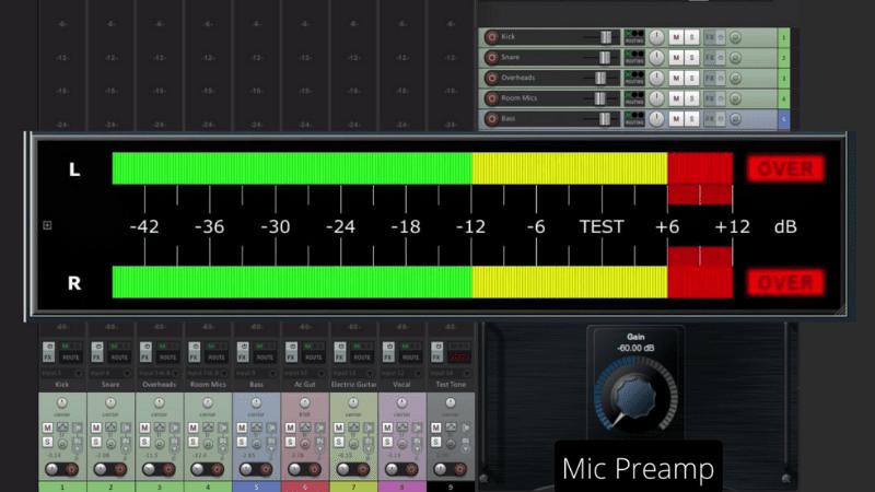 Reaper Recording Levels