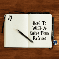 12 Tips on how to write a Music Press Release