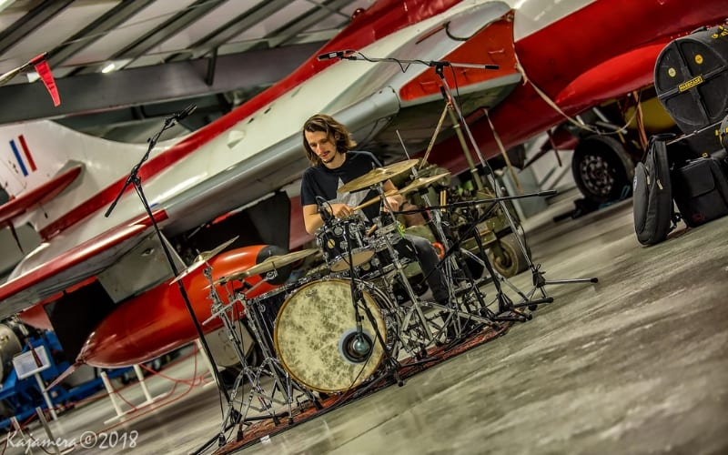 Jake Bradford-Sharp drummer