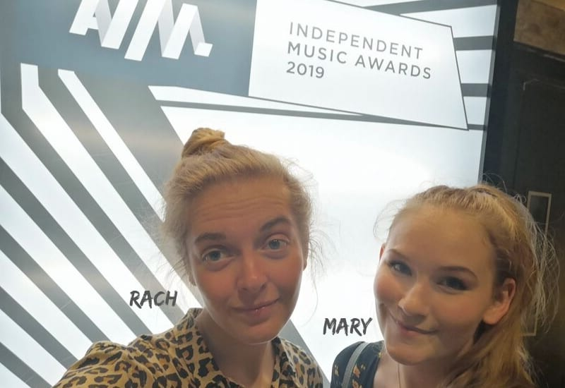 Mary Woodcock at AIM Awards After Party with Rach