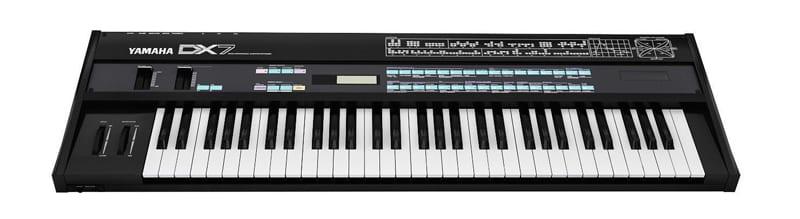 DX7 Yamaha synthesizer