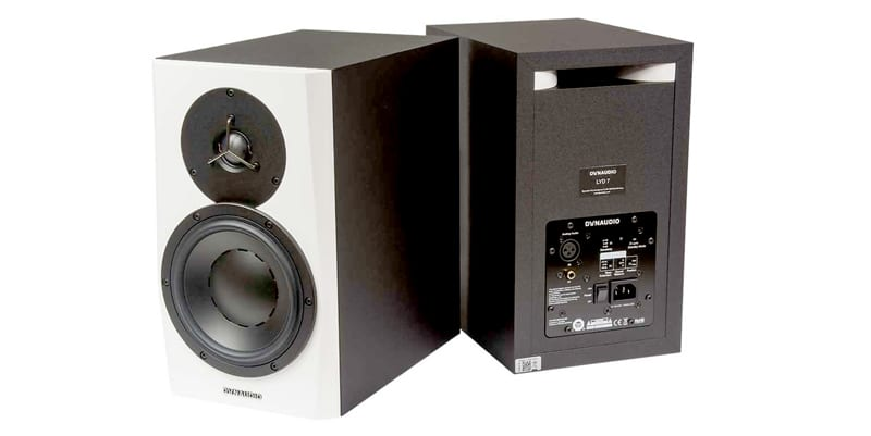 DYNAUDIO LYD 7 PMC-RESULT-6 studio monitors