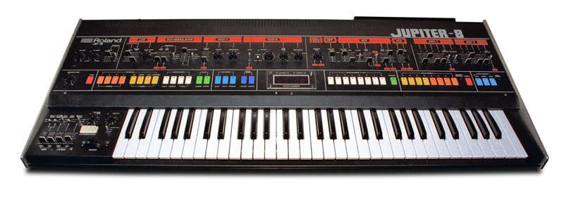 Jupiter 8 by Roland synthesizer