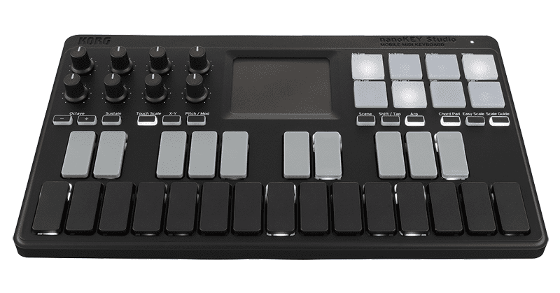 The Korg nanoKEY Studio