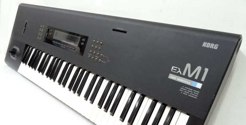 The M1 by Korg synthesizer