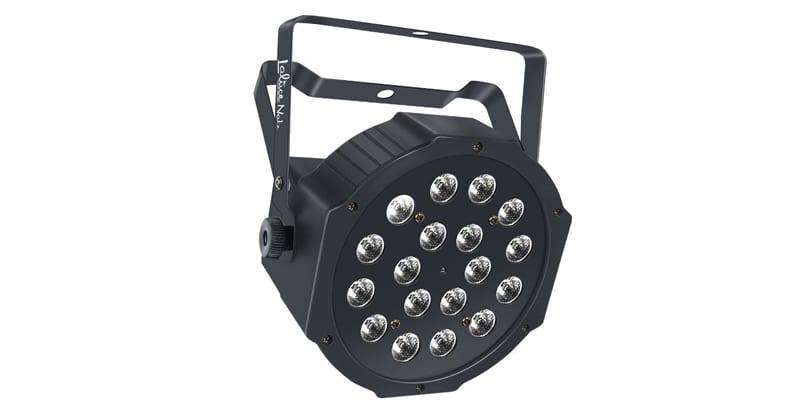 LaluceNatz Par Lights with RGB 18LEDs