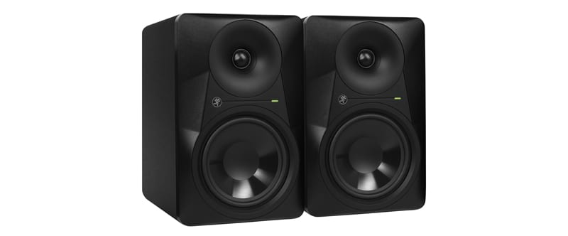 MACKIE MR624 PMC studio monitors