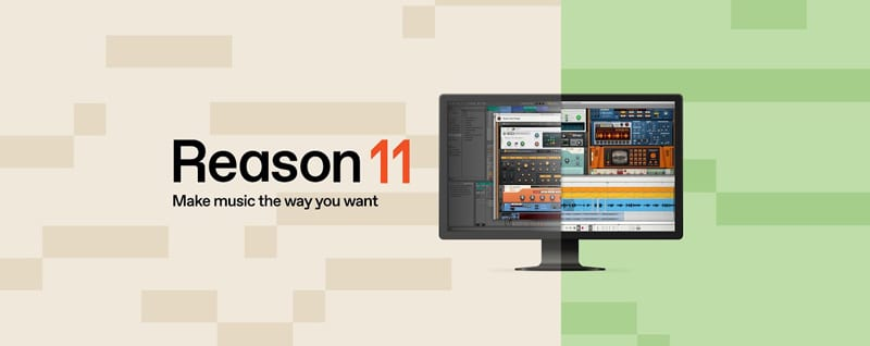 Reason 11 DAW Studio Logo
