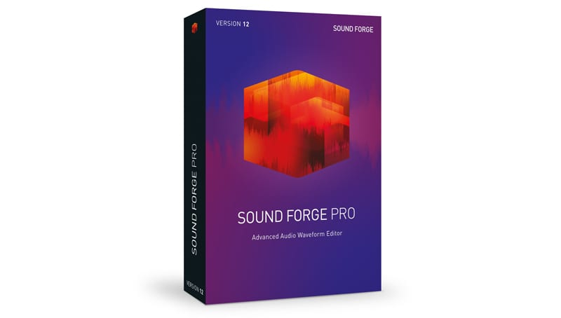 Sound Forge Pro 12 audio editing software