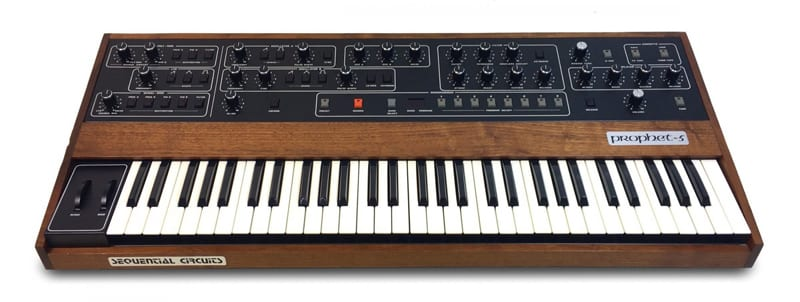 Synthesizer - The Prophet 5 by Sequential Circuits