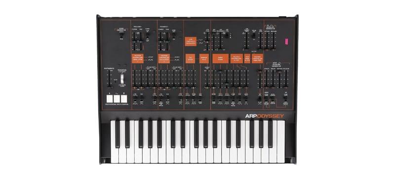 The ARP Odyssey by Korg synthesizer