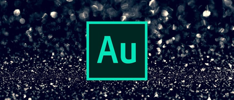 Adobe Audition audio editing software for musicians logo