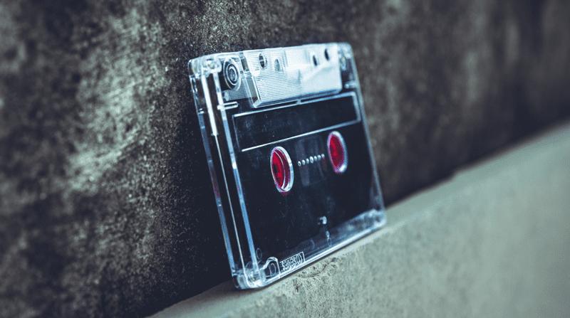 black-and-gray-cassette-tape