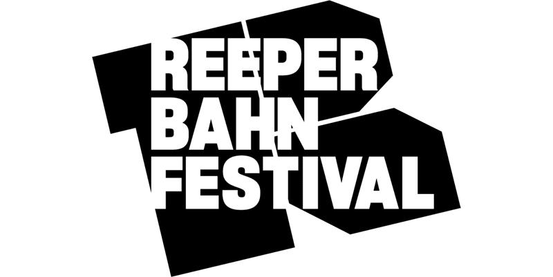 reeperbahn festival logo in black and white on every September each year