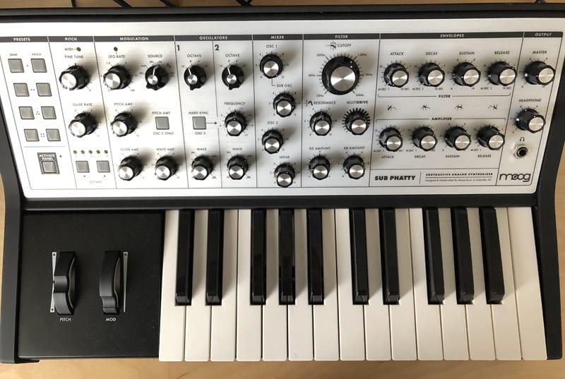 Moog Front Panel