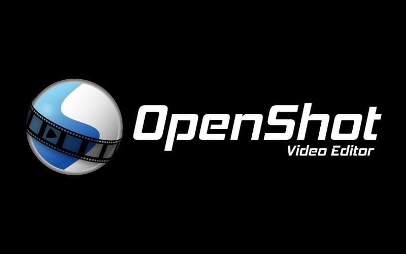Openshot free video editing software logo