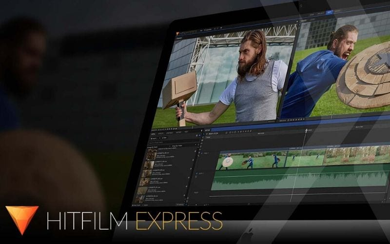 HitFilm Express free video and movie editor