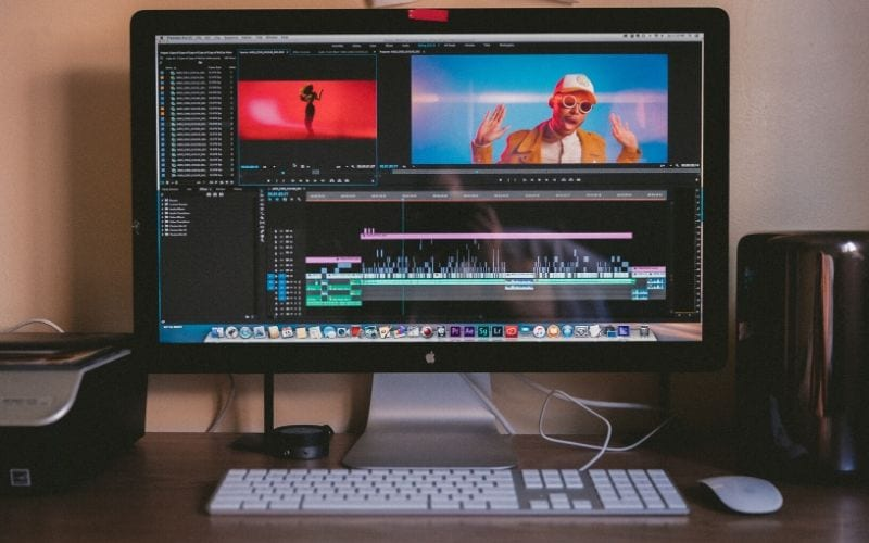 Adobe Premiere Pro CC on computer