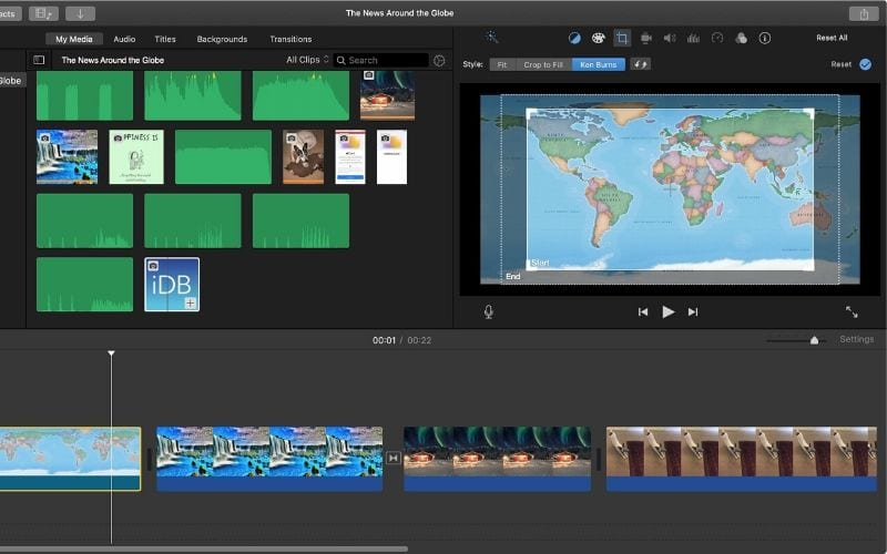 iMovie Best Free Video Editing Software