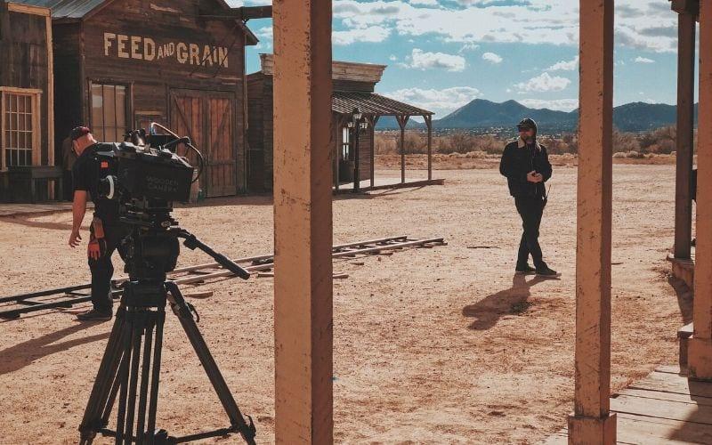 Wild West Filming video shoot