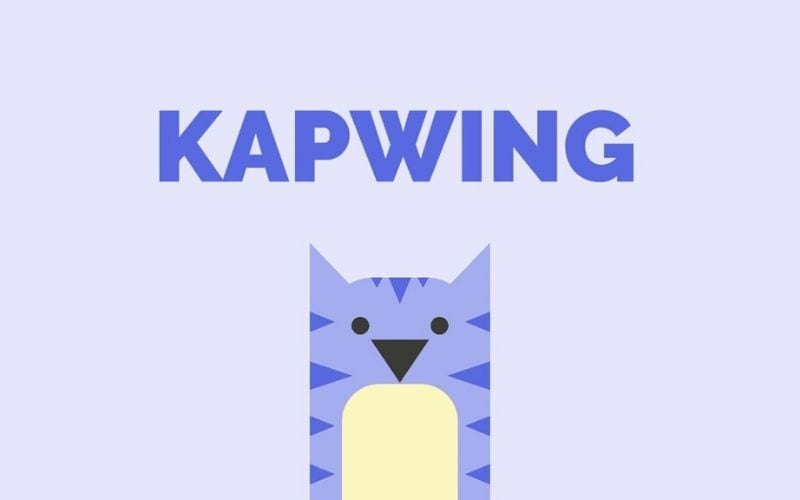 Kapwing video editor how to add music to video