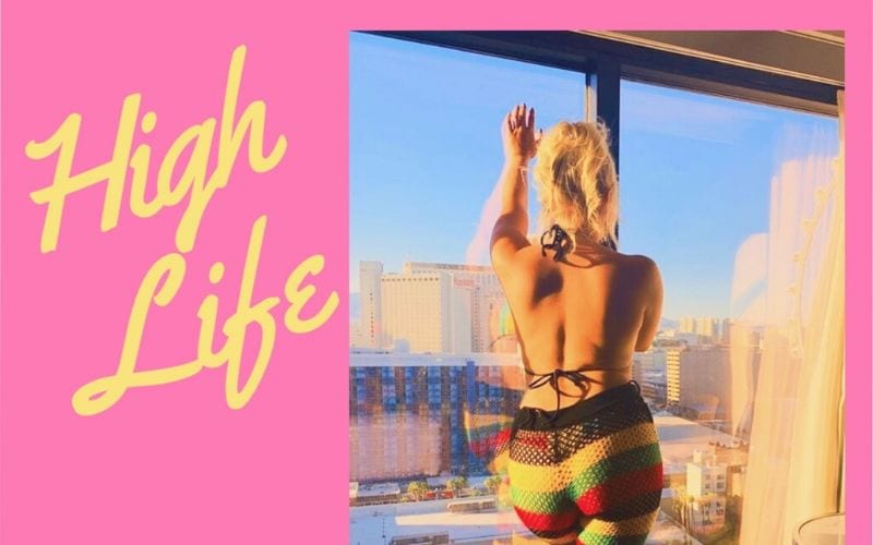 Woman at window is Sheddy Maria on new single High Life