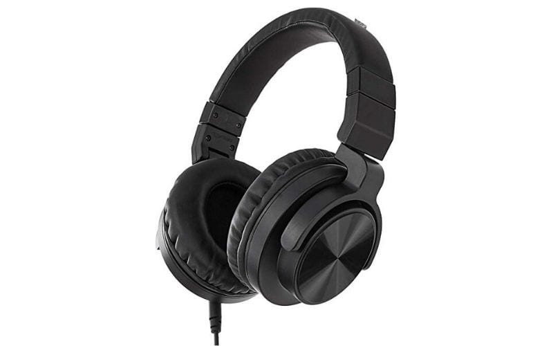 AmazonBasics Over-Ear Studio Monitoring Headphones