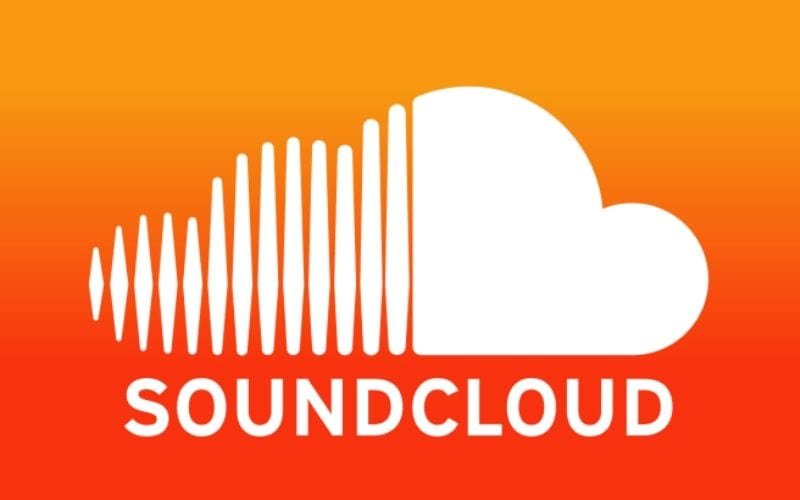 Soundcloud logo music streaming services