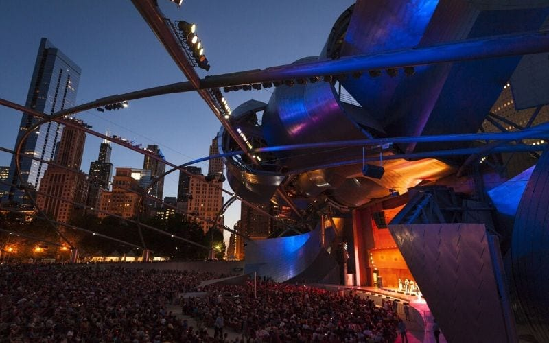 Jay Pritzker Pavilion, Chicago music venues