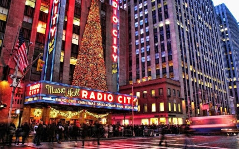 Radio City Music Hall New York City NYC