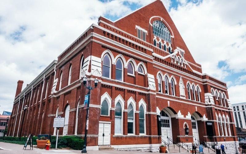 Ryman Auditorium Nashville music venues