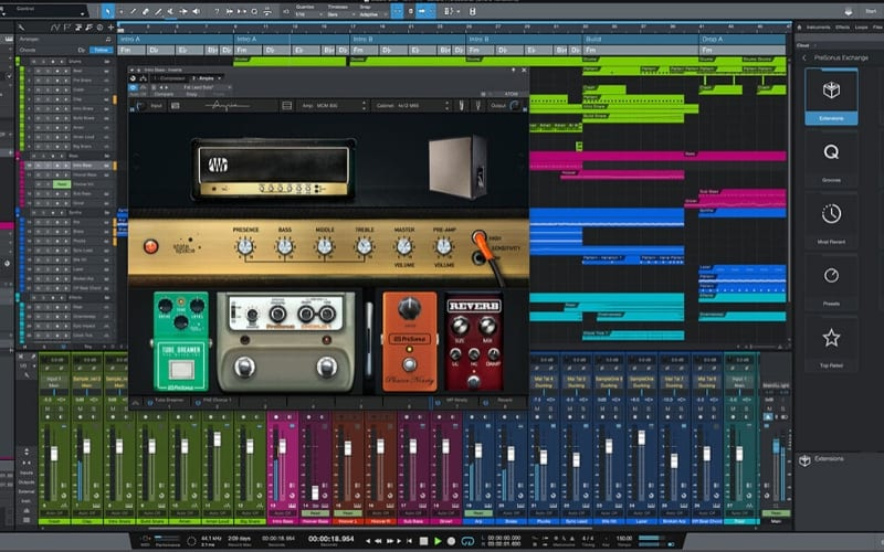 PreSonus music production software DAW