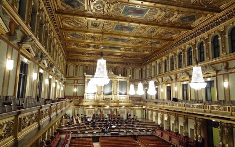 Grosser Musikvereinssaal music venue in Vienna, Austria