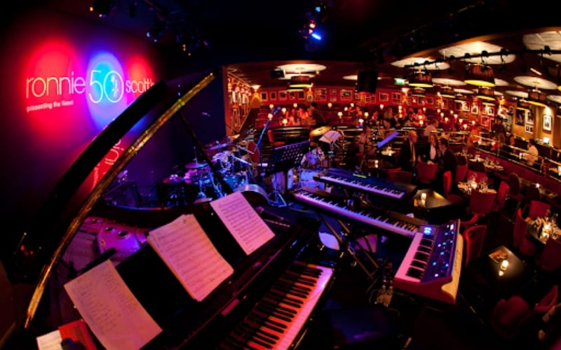 Ronnie Scotts in London, UK