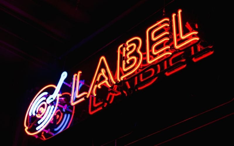 Neon Sign How To Start a Record Label