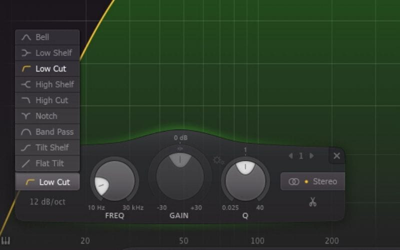 EQ equaliser Shape