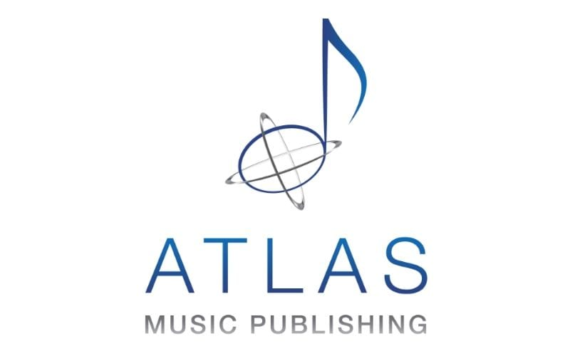 Atlas music publishing logo  in Music Gateway's list of music publishing companies