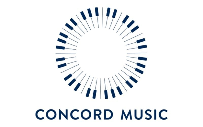 concord music publishing logo comes out second in Music Gateway's list of music publishing companies