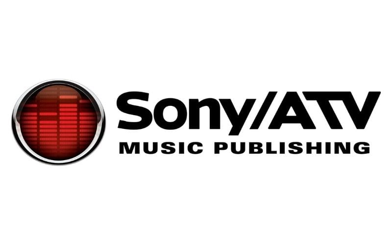Sony/ATV music publishing lgo makes it into Music Gateway's list of music publishing companies