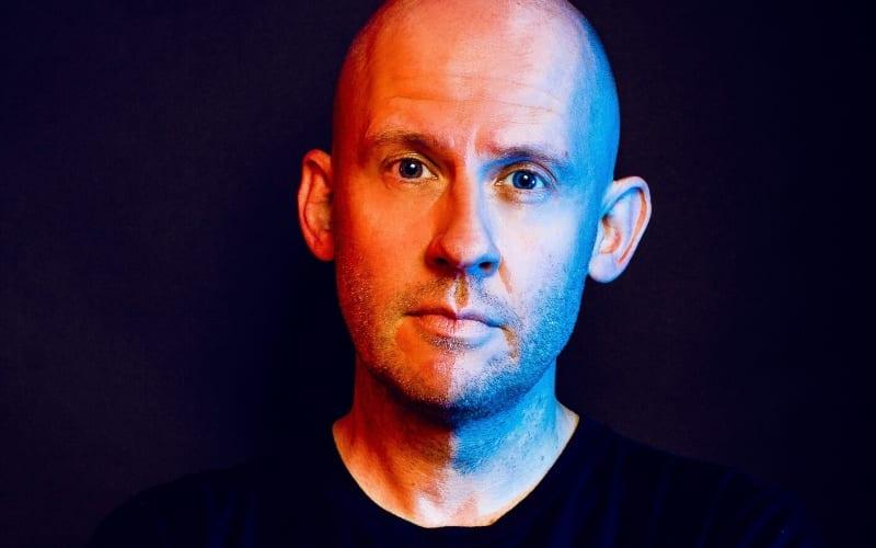 Tim Barnsley-Parfitt topliner songwriter on black background